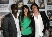 Abdul Salis, Jennifer Decker and Martin Henderson at the special screening of
