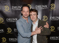 Nick Kroll and Derek Waters at the California premiere of