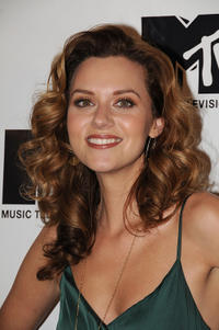 Hilarie Burton at the MTV's TRL