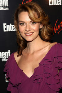 Hilarie Burton at the Entertainment Weekly and Vavoom annual upfront party in New York.