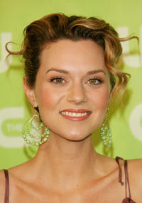 Hilarie Burton at the CW Network Upfront in New York.