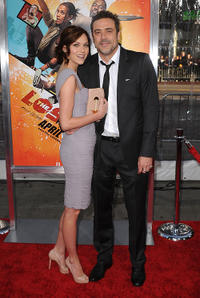 Hilarie Burton and Jeffrey Dean Morgan at the California premiere of