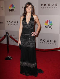 Sarah Wayne Callies at the after party of NBC Universal's 68th Annual Golden Globes.