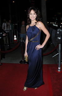Sarah Wayne Callies at the Los Angeles premiere of