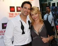 Michael Guarnera and Gail O'Grady at the premiere of