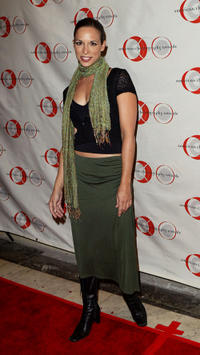 Danielle Burgio at the 9th Annual American Choreography Awards in California.