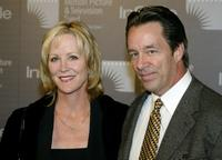 Joanna Kerns and husband Marc Appleton at the opening of Jeff Bridges' Photography Exhibition.