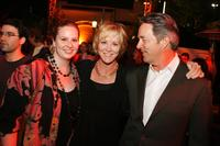 Ashley, Joanna Kerns and Marc Appleton at the after party of the premiere of
