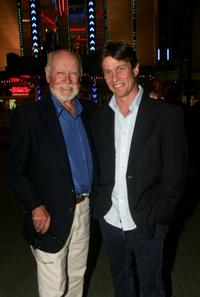 Bill Kerr and Mark Lee at the reunion to celebrate the DVD release of