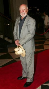 Bill Kerr at the world premiere of