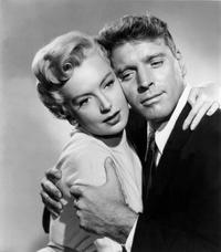 An Undated File Photo of Deborah Kerr and Burt Lancaster.