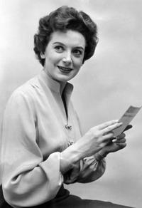 A File Photo of actress Deborah Kerr, dated 24 March 1954.