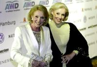 Alice Kessler and Ellen Kessler at the World Awards 2003.