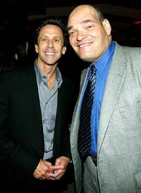 Brian Grazer and Irwin Keyes at the after party of the world premiere of