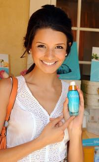 Alice Greczyn at the DPA Garden Party Gift Suite.