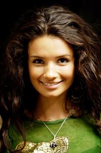 Alice Greczyn at the 2008 World Experience DPA gift lounge.