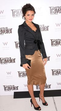 Alice Greczyn at the Conde Nast Traveler Hot List Party.