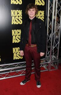 Evan Peters at the premiere of