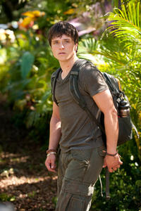 Josh Hutcherson as Sean in ``Journey 2: The Mysterious Island.''