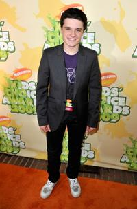Josh Hutcherson at the Nickelodeon's 2009 Kids' Choice Awards.