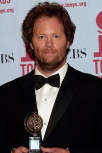 Shuler Hensley at the 56th Annual Tony Awards.