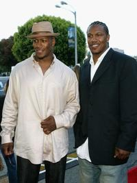 Jamal Duff and brother John Duff at the California premiere of