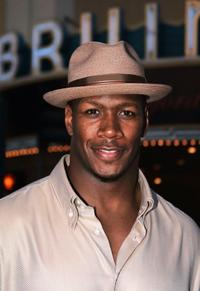 Jamal Duff at the California premiere of