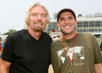 Richard Branson and Howard Handler at the Virgin Festival