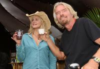 Daryl Hannah and Richard Branson at the Virgin Festival