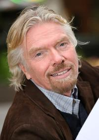 Richard Branson at the launch of new Virgin Mobile directory enquiries number 118 918.