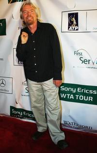 Richard Branson at the Stars for Stars, A Celebration in Tennis Excellence Event.