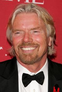 Richard Branson at the Time Magazine's celebration of the 100 most influential people.