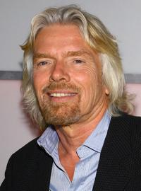 Richard Branson at the event for Virgin Charter.