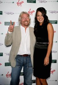Richard Branson and Ana Ivanovic at the Sony Ericsson WTA Tour pre-Wimbledon Player party.