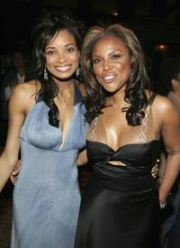 Rochelle Aytes and Lynn Whitfield at the after party of the premiere of