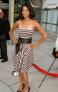 Rochelle Aytes at the Los Angeles premiere of