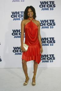 Rochelle Aytes at the premiere of