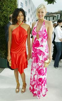 Rochelle Aytes and Maitland Ward at the premiere of