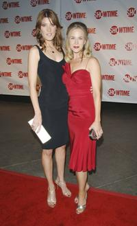 Jennifer Carpenter and Julie Benz at the premiere of