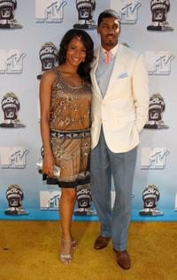 Faune Chambers and Farnsworth Bentley at the 17th Annual MTV Movie Awards.