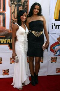 Faune Chambers and Sydney Tamiia Poitier at the 21st Annual Soul Train Music Awards.