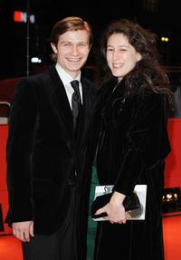 Pawel Szajda and Marina Polo at the premiere of