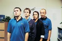 Shaun Evans, Sean Biggerstaff, Stuart Goodwin and Michael Dixon in