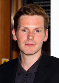Shaun Evans at the launch of Kurt & Sid in England.