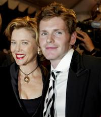 Annette Bening and Shaun Evans at the gala screening of