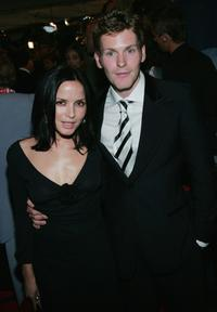 Shaun Evans and girlfriend at the opening night gala screening of