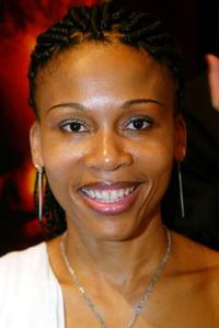 Leleti Khumalo at the reception for the Foreign Language Film Nominees.