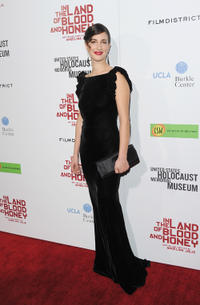 Zana Marjanovic at the California premiere of