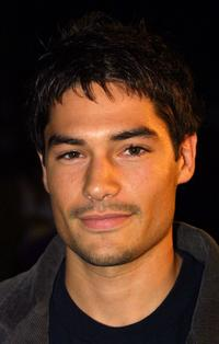 D.J. Cotrona at the Los Angeles premiere of
