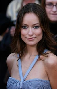 Olivia Wilde at the 14th Screen Actors Guild Awards.